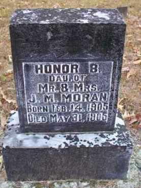 MORAN, HONOR B - Pike County, Arkansas | HONOR B MORAN - Arkansas Gravestone Photos
