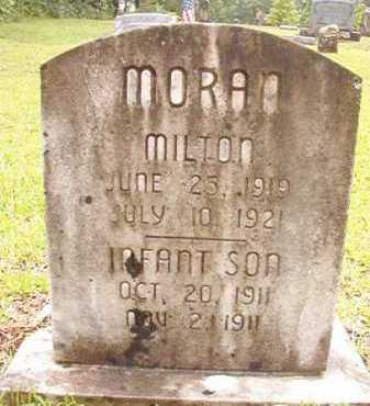 MORAN, MILTON - Pike County, Arkansas | MILTON MORAN - Arkansas Gravestone Photos
