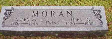 MORAN, OLEN D - Pike County, Arkansas | OLEN D MORAN - Arkansas Gravestone Photos
