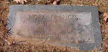 MORAN, NORA FRANCES - Pike County, Arkansas | NORA FRANCES MORAN - Arkansas Gravestone Photos