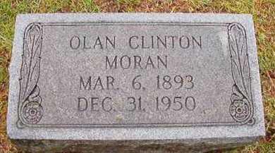 MORAN, OLAN CLINTON - Pike County, Arkansas | OLAN CLINTON MORAN - Arkansas Gravestone Photos