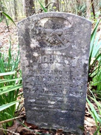 PASLAY (VETERAN CSA), JOHN ALBERT - Pike County, Arkansas   JOHN ALBERT PASLAY (VETERAN CSA) - Arkansas Gravestone Photos