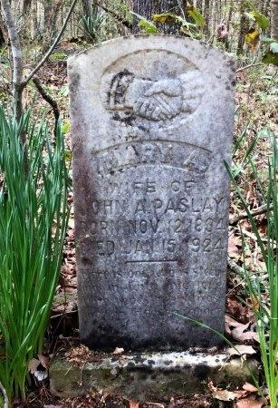 PASLAY, MARY ANN - Pike County, Arkansas   MARY ANN PASLAY - Arkansas Gravestone Photos