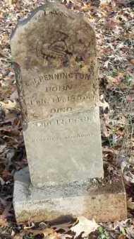 PENNINGTON, E J - Pike County, Arkansas   E J PENNINGTON - Arkansas Gravestone Photos