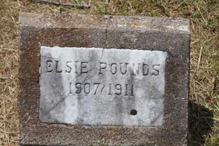 POUNDS, ELSIE - Pike County, Arkansas | ELSIE POUNDS - Arkansas Gravestone Photos
