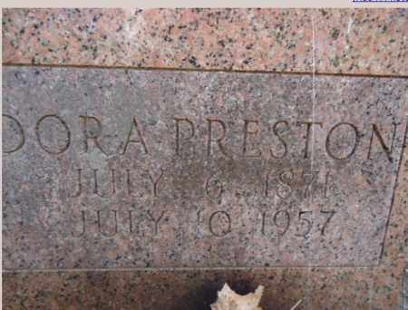 PRESTON, DORA - Pike County, Arkansas | DORA PRESTON - Arkansas Gravestone Photos