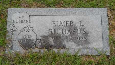 RICHARDS, ELMER L - Pike County, Arkansas | ELMER L RICHARDS - Arkansas Gravestone Photos