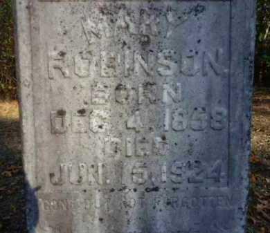 ROBINSON, MARY - Pike County, Arkansas | MARY ROBINSON - Arkansas Gravestone Photos