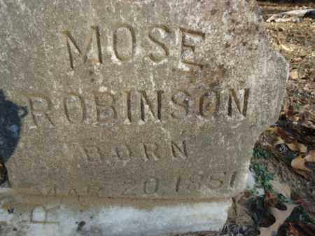 ROBINSON, MOSE - Pike County, Arkansas | MOSE ROBINSON - Arkansas Gravestone Photos