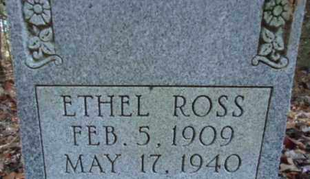 ROSS, ETHEL - Pike County, Arkansas | ETHEL ROSS - Arkansas Gravestone Photos