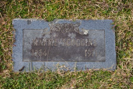 SCOGGINS, MATTIE - Pike County, Arkansas | MATTIE SCOGGINS - Arkansas Gravestone Photos