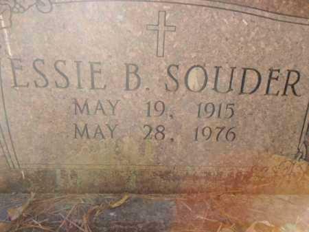SOUDER, ESSIE B - Pike County, Arkansas | ESSIE B SOUDER - Arkansas Gravestone Photos