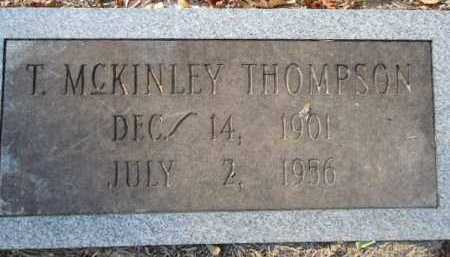 THOMPSON, T  MCKINLEY - Pike County, Arkansas   T  MCKINLEY THOMPSON - Arkansas Gravestone Photos