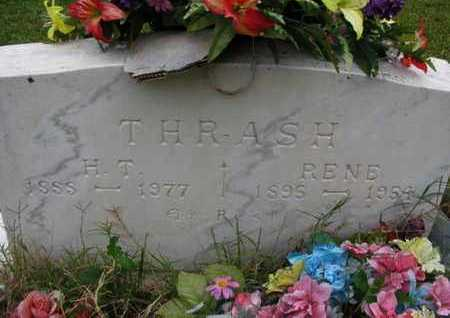 "FOSHEE THRASH, ROSE ADANA ""RENE"" - Pike County, Arkansas 