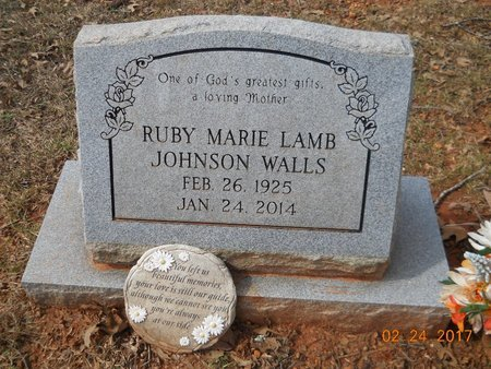 WALLS, RUBY MARIE - Pike County, Arkansas | RUBY MARIE WALLS - Arkansas Gravestone Photos
