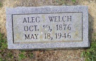 WELCH, ALEXANDER AUGUSTUS - Pike County, Arkansas | ALEXANDER AUGUSTUS WELCH - Arkansas Gravestone Photos