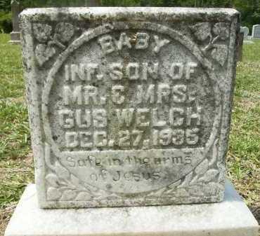 WELCH, INFANT SON - Pike County, Arkansas   INFANT SON WELCH - Arkansas Gravestone Photos