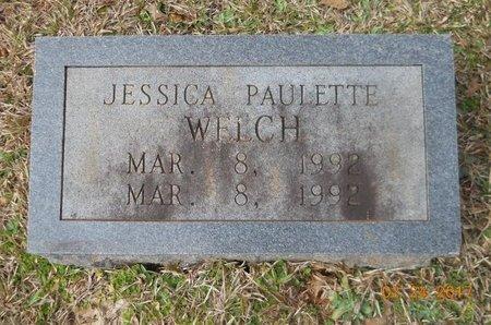 WELCH, JESSICA PAULETTE - Pike County, Arkansas   JESSICA PAULETTE WELCH - Arkansas Gravestone Photos