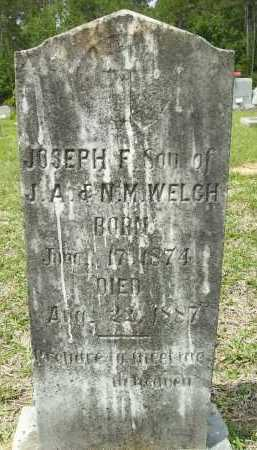 WELCH, JOSEPH F - Pike County, Arkansas | JOSEPH F WELCH - Arkansas Gravestone Photos