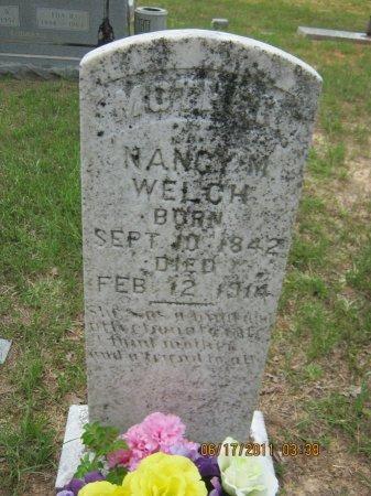 WELCH, NANCY MAHALA - Pike County, Arkansas | NANCY MAHALA WELCH - Arkansas Gravestone Photos