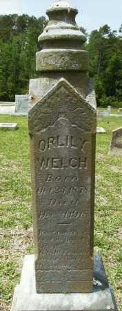 WELCH, ORLILY - Pike County, Arkansas   ORLILY WELCH - Arkansas Gravestone Photos