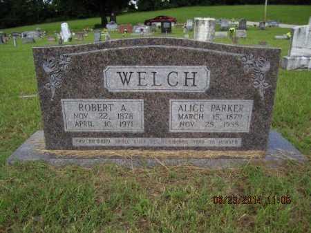 WELCH, ALICE - Pike County, Arkansas | ALICE WELCH - Arkansas Gravestone Photos