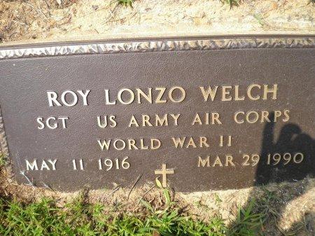 WELCH (VETERAN WWII), ROY LONZO - Pike County, Arkansas | ROY LONZO WELCH (VETERAN WWII) - Arkansas Gravestone Photos