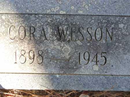 WESSON, CORA - Pike County, Arkansas | CORA WESSON - Arkansas Gravestone Photos