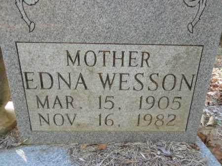 WESSON, EDNA - Pike County, Arkansas | EDNA WESSON - Arkansas Gravestone Photos