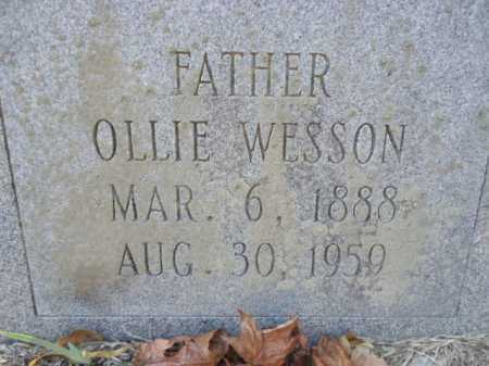 WESSON, OLLIE - Pike County, Arkansas | OLLIE WESSON - Arkansas Gravestone Photos