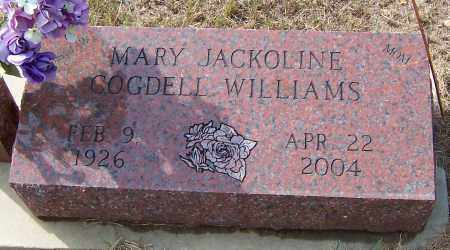 WILLIAMS, MARY JACKOLINE - Pike County, Arkansas | MARY JACKOLINE WILLIAMS - Arkansas Gravestone Photos