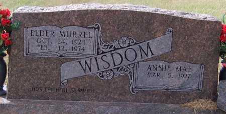WISDOM, ELDER MURRELL - Pike County, Arkansas   ELDER MURRELL WISDOM - Arkansas Gravestone Photos