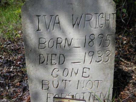WRIGHT, IVA - Pike County, Arkansas | IVA WRIGHT - Arkansas Gravestone Photos