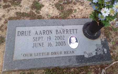 BARRETT, DRUE AARON - Poinsett County, Arkansas | DRUE AARON BARRETT - Arkansas Gravestone Photos