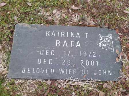 BATA, KATRINA T - Poinsett County, Arkansas | KATRINA T BATA - Arkansas Gravestone Photos
