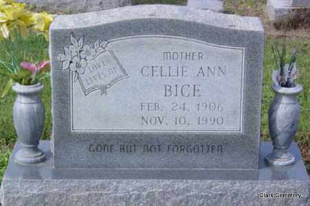 BICE, CELLIE ANN - Poinsett County, Arkansas | CELLIE ANN BICE - Arkansas Gravestone Photos