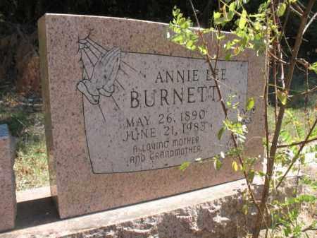 BURNETT, ANNIE LEE - Poinsett County, Arkansas | ANNIE LEE BURNETT - Arkansas Gravestone Photos