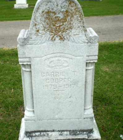 COOPER, CARRIE T - Poinsett County, Arkansas | CARRIE T COOPER - Arkansas Gravestone Photos