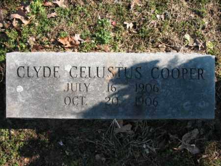 COOPER, CLYDE CELUSTUS - Poinsett County, Arkansas | CLYDE CELUSTUS COOPER - Arkansas Gravestone Photos