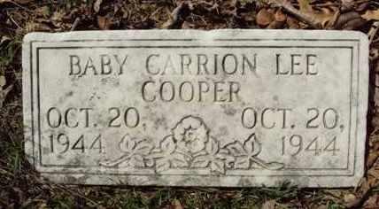 COOPER, CARRION LEE - Poinsett County, Arkansas | CARRION LEE COOPER - Arkansas Gravestone Photos