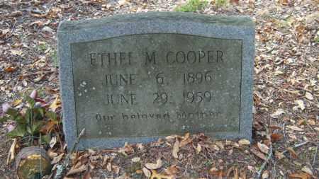 COOPER, ETHEL M - Poinsett County, Arkansas | ETHEL M COOPER - Arkansas Gravestone Photos