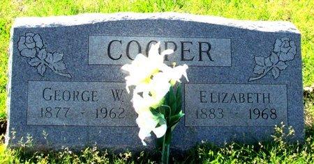 COOPER, ELIZABETH - Poinsett County, Arkansas   ELIZABETH COOPER - Arkansas Gravestone Photos