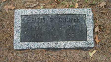COOPER, HELLIS W - Poinsett County, Arkansas | HELLIS W COOPER - Arkansas Gravestone Photos