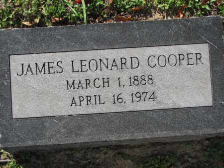 COOPER, JAMES LEONARD - Poinsett County, Arkansas | JAMES LEONARD COOPER - Arkansas Gravestone Photos