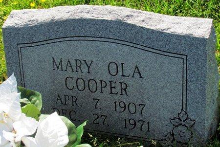 COOPER, MARY OLA - Poinsett County, Arkansas | MARY OLA COOPER - Arkansas Gravestone Photos