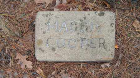 COOPER, MAGGIE - Poinsett County, Arkansas | MAGGIE COOPER - Arkansas Gravestone Photos