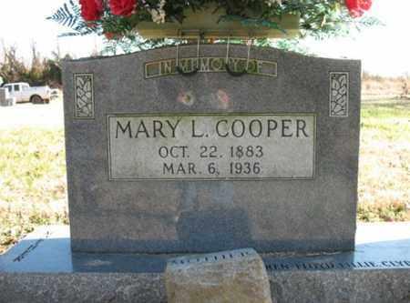 COOPER, MARY L - Poinsett County, Arkansas | MARY L COOPER - Arkansas Gravestone Photos