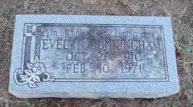 CUNNINGHAM, EVELYN - Poinsett County, Arkansas | EVELYN CUNNINGHAM - Arkansas Gravestone Photos
