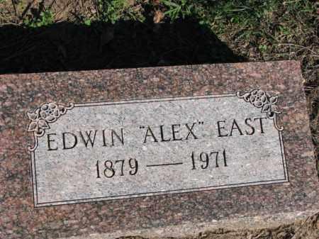 "EAST, EDWIN ""ALEX"" - Poinsett County, Arkansas   EDWIN ""ALEX"" EAST - Arkansas Gravestone Photos"
