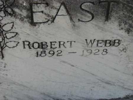 EAST, ROBERT WEBB - Poinsett County, Arkansas | ROBERT WEBB EAST - Arkansas Gravestone Photos